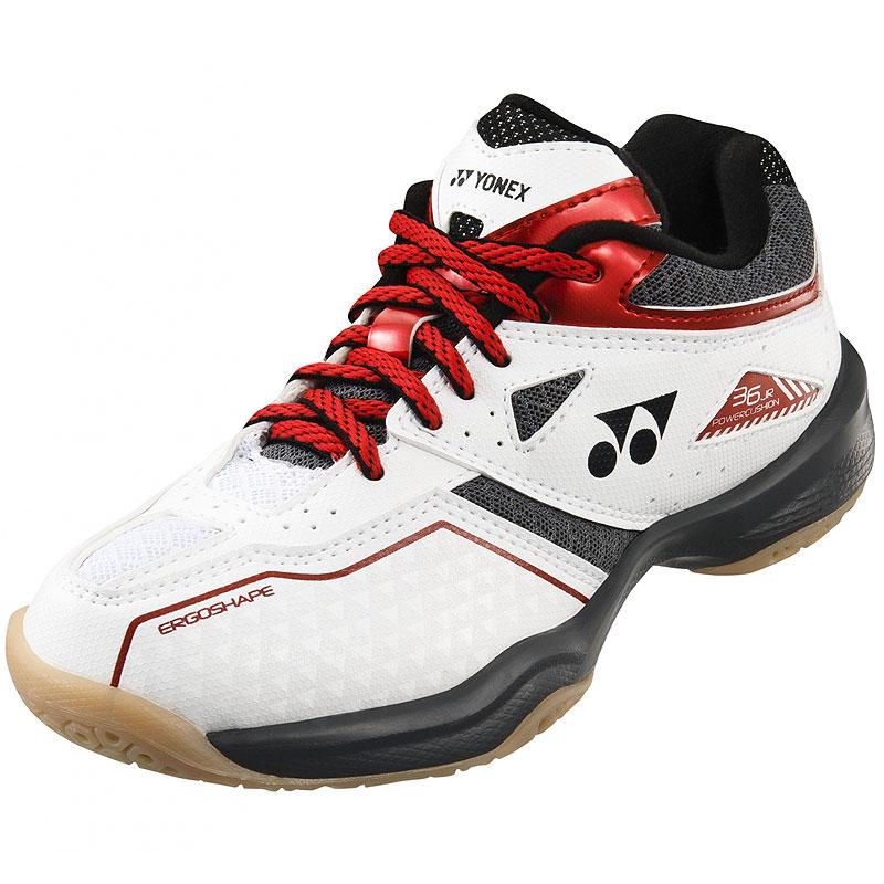 White Yonex Mens Power Cushion 03ZM Badminton Shoes