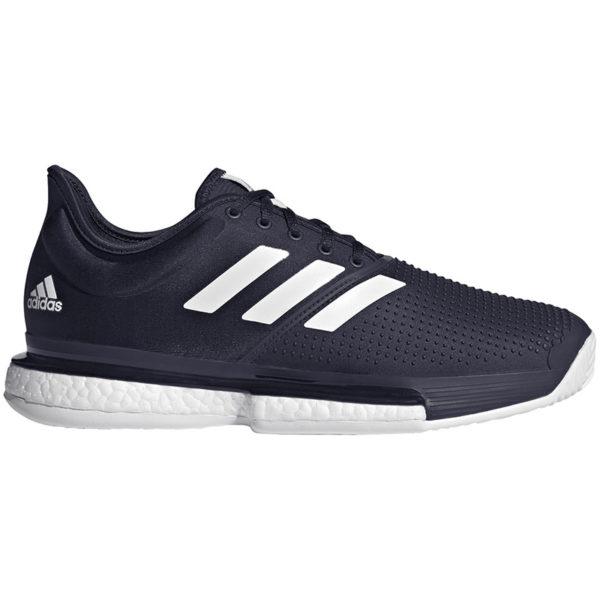 Adidas Mens Solecourt All Court Tennis Shoe (Navy)